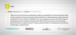 Review from a Bride