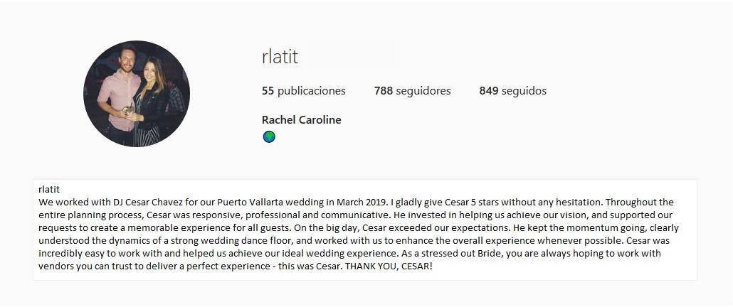 Rachel - Review