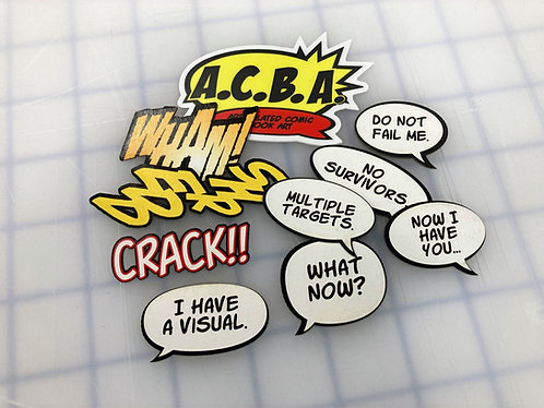 A.C.B.A. Cutouts Sample Pack 2.0