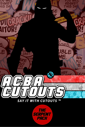 A.C.B.A. Cutouts Serpent Pack