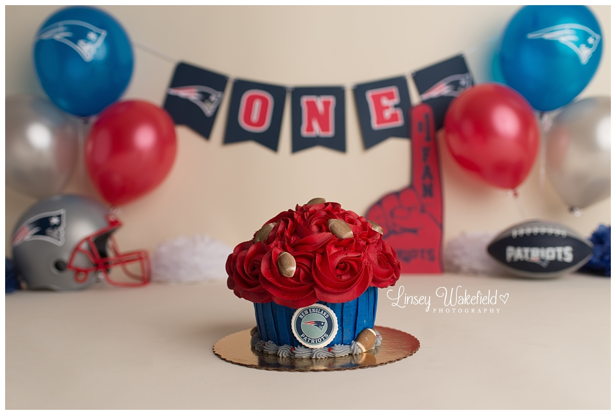 Massachusetts Photographer Caysons New England Patriots Cake