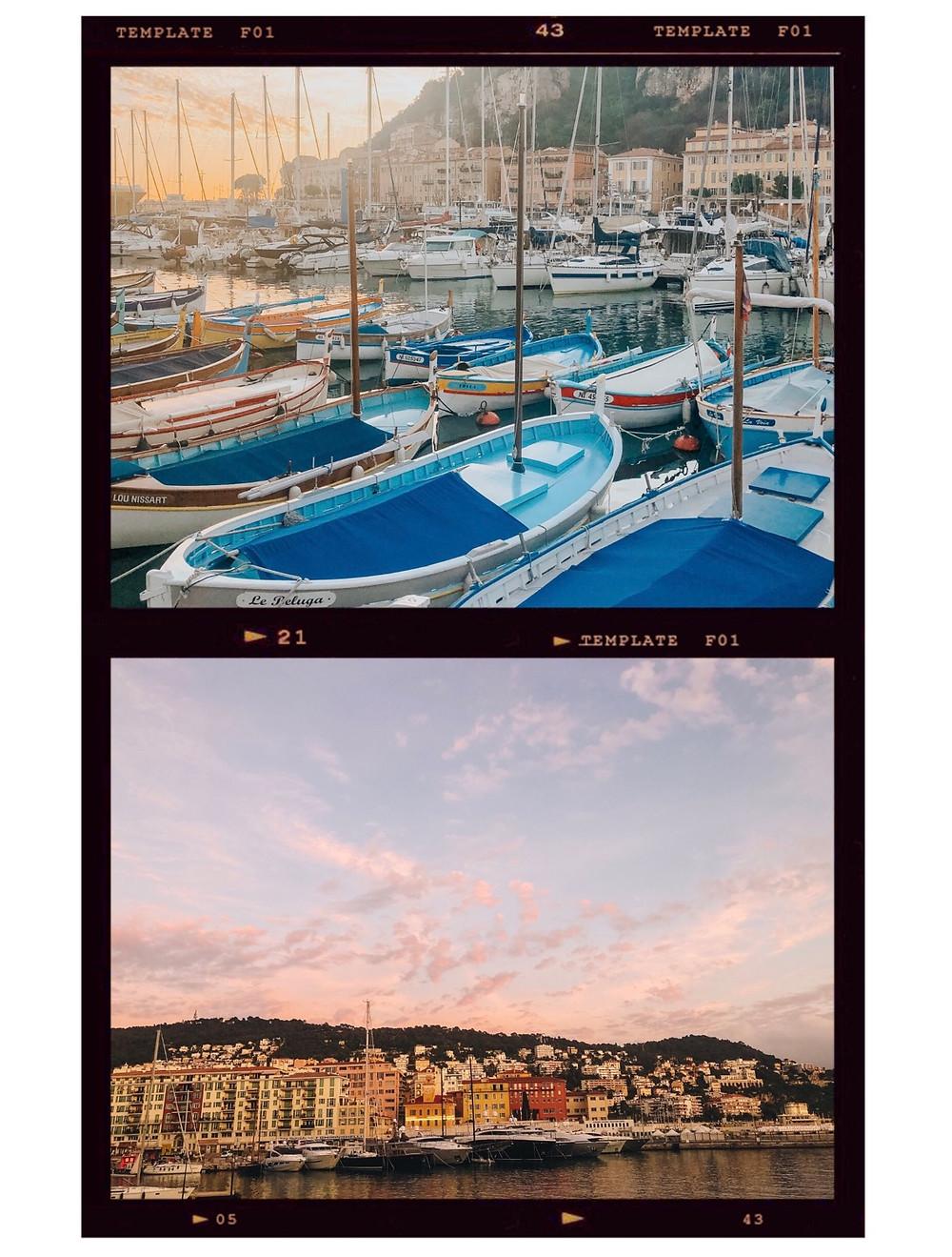 Nice France Port