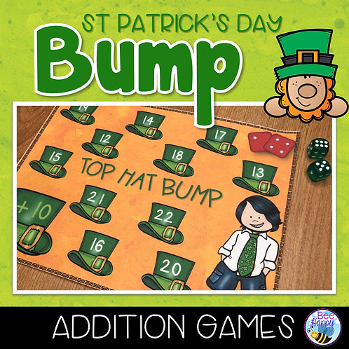 St Patrick's Day Addition Bump Games