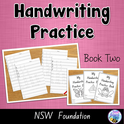 Australian Handwriting Practice Book 2 NSW Foundation