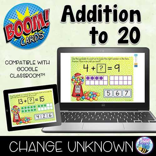 Addition to 20 Change Unknown Boom Cards