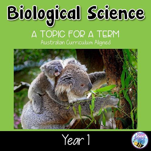 Biological Science Year 1 Australian Curriculum