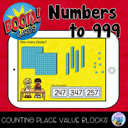 Numbers to 999 Boom Cards