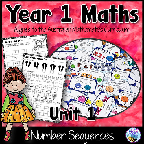 Year 1 Maths Unit 1 Number Sequences