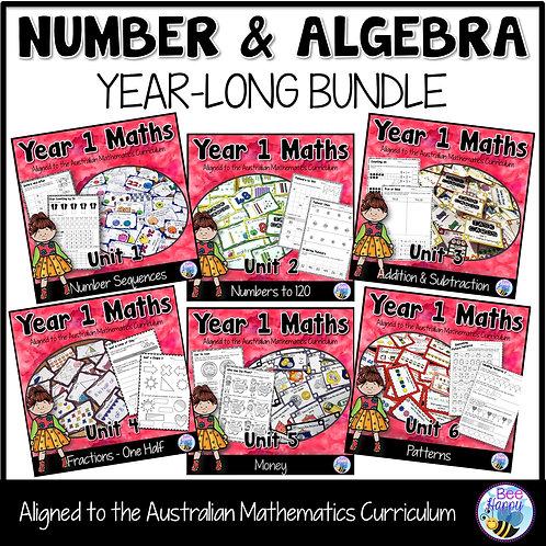 Year 1 Number and Algebra Bundle