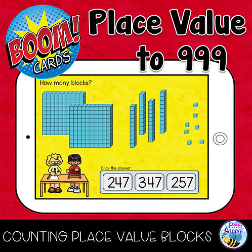 Place Value to 999 Boom Cards
