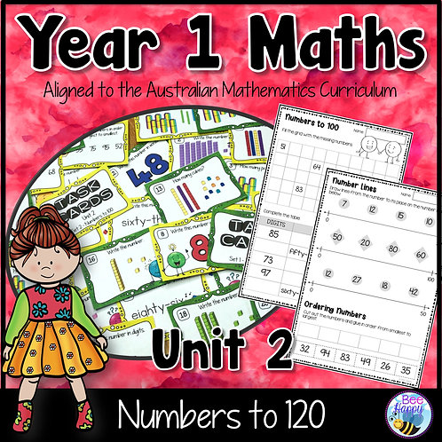 Year 1 Maths Unit 2 Numbers to 120