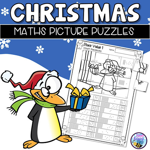 Christmas Maths Picture Puzzles