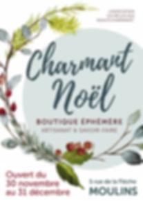 Charmant Noël Affiche