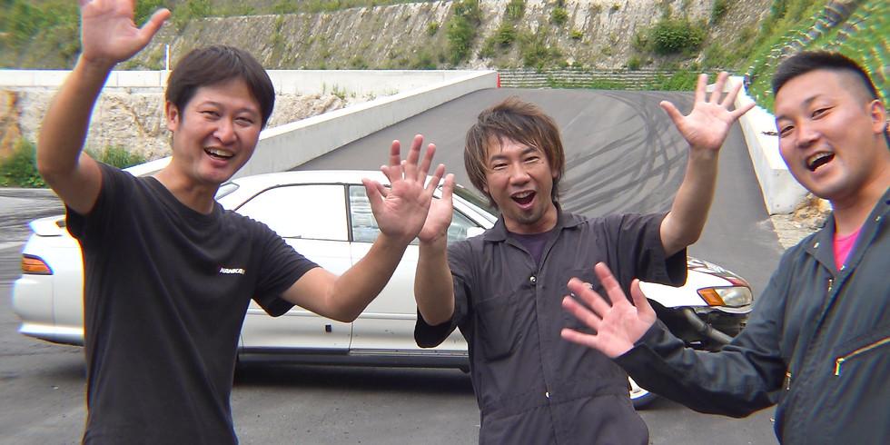 第二回 全日本連絡通路ドリフトグランプリ 動画収録観覧希望者募集