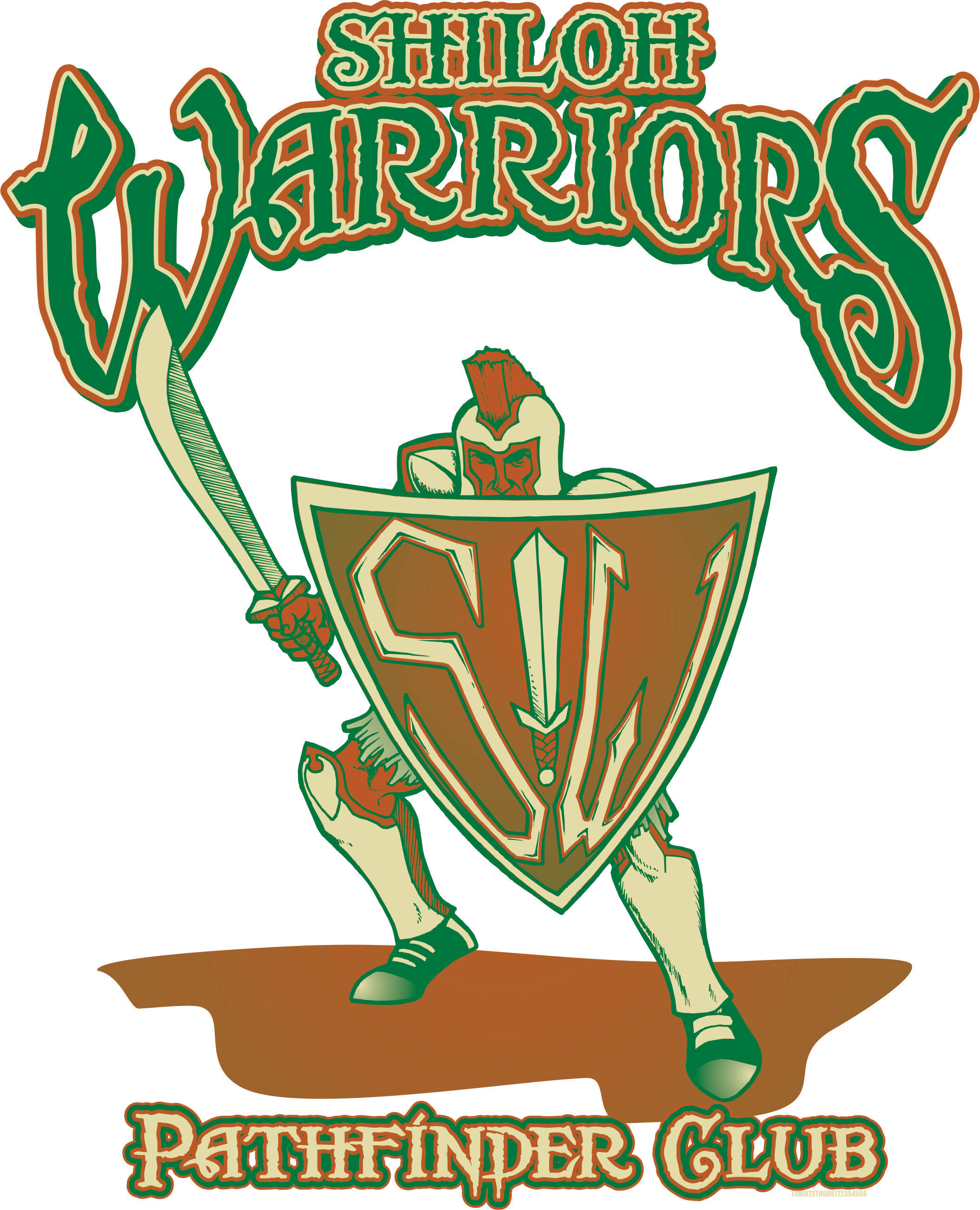 Shiloh Warriors logo full