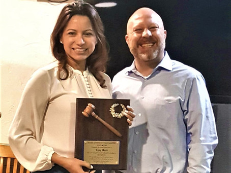 Espy Mead Completes her Presidency at Miami Advanced Toastmasters