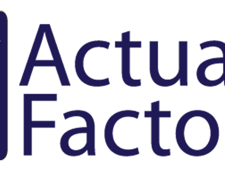 Actuarial Factor Nominated for Actuarial Firm of the Year 2019