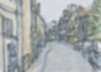 Painting of Cirencester