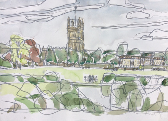 Cirencester Abbey Grounds 1