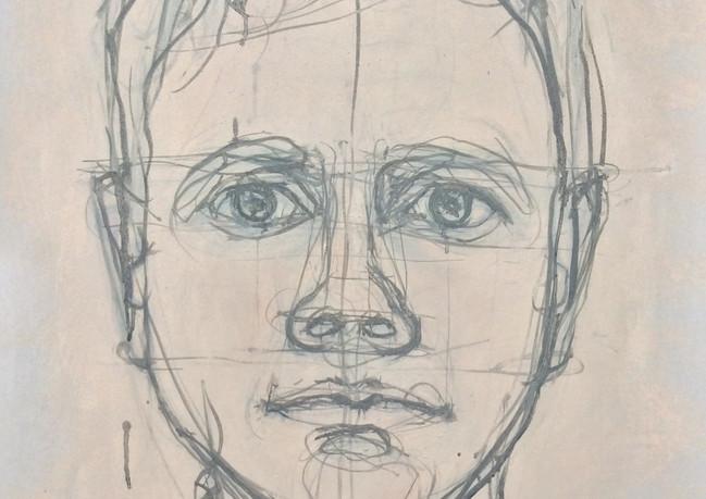 Self Portrait Staring