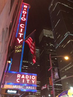 Radio City on Christmas Night