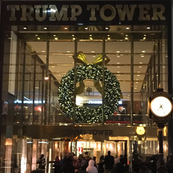 Lonely Christmas at Trump Tower