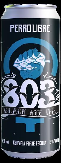 803 BLACK RYE IPA