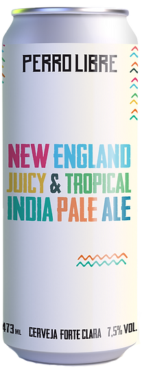 NEW ENGLAND JUICY & TROPICAL INDIA PALE ALE