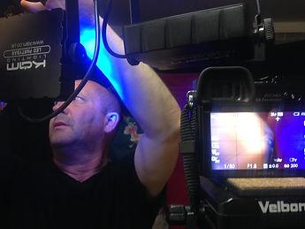 Rupert changing the lights.jpg
