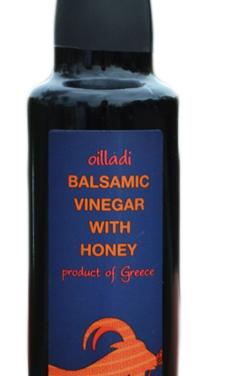 Balsamic Vinegar w/ Honey