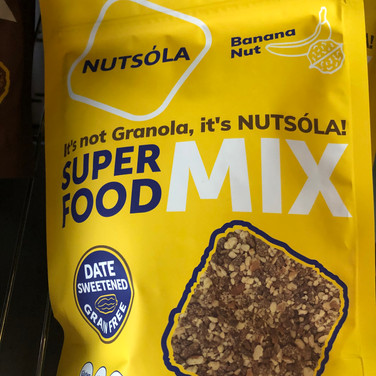 Nutsola Super Food Mix- Banana Nut