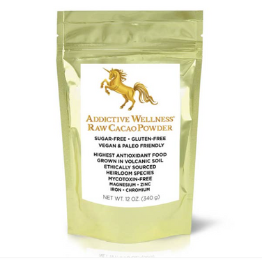 Addictive Wellness Raw Cocoa Powder