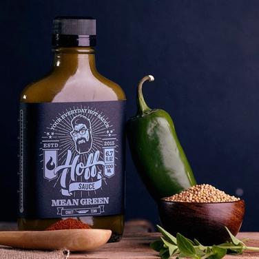 Hoff Sauce Mean Green
