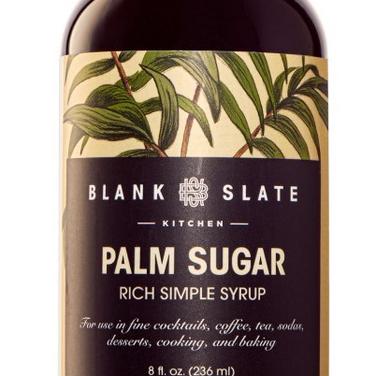 Palm Sugar Simple Syrup