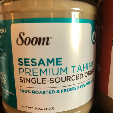 Soom Sesame Tahini