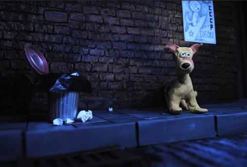 Street Set for 'Laika'