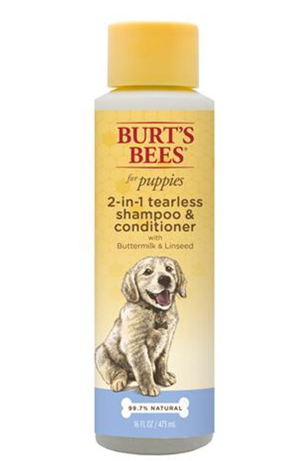Burt's Bees™ 2-in-1 Shampoo and Conditioner for Puppies with Buttermilk & Linsee