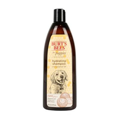 Burt's Bees Care Plus+ Hydrating Shampoo + Coconut Oil For Puppies, 16oz