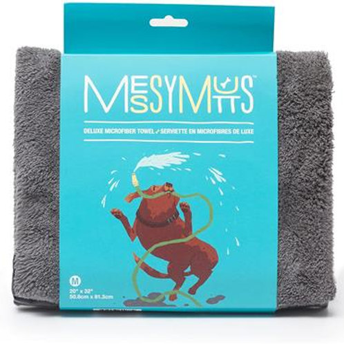 Deluxe Ultra Soft Microfiber Towel by Messy Mutts