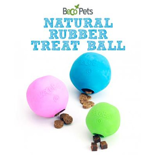 PLAY Treat Ball (Natural Rubber & Rice Husk) - Eco-Friendly