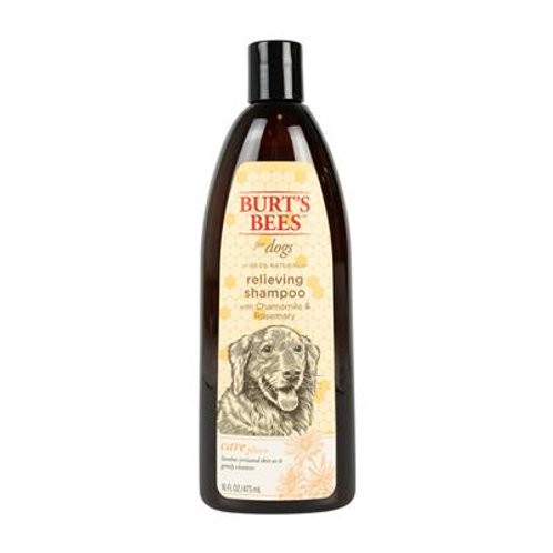 Burt's Bees Care Plus+ Relieving Shampoo + Chamomile & Rosemary For Dogs, 16oz
