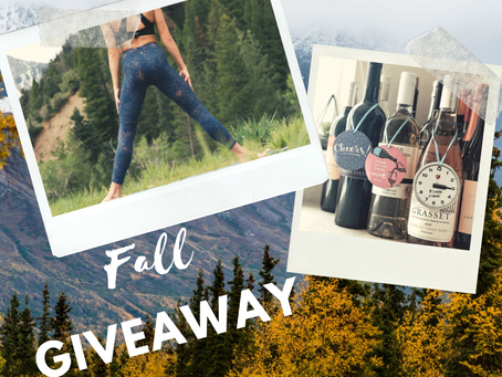 Fall GIVEAWAY | Nakedwines.com & ZYIA Active