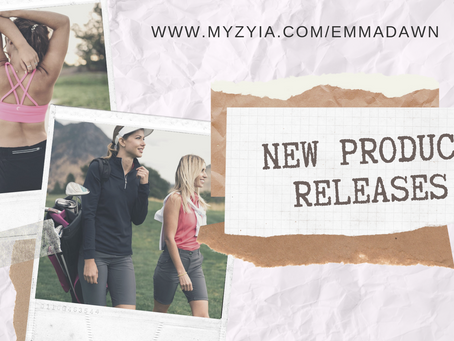 New Zyia Active Products - Golf Inspired
