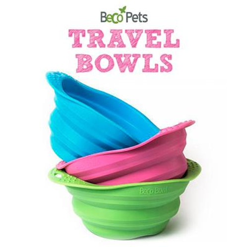 Pet Travel Bowls (Silicone) - Eco-Friendly