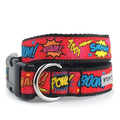 Comic Strip Collar & Lead Collection