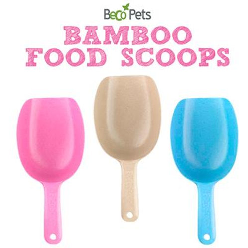 Food Scoops - Made from Recycled Bamboo and Rice Husk - Eco-Friendly