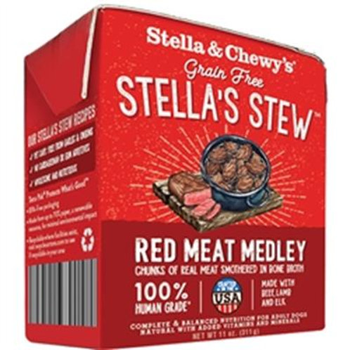 STELLA & CHEWY'S DOG STEW RED MEAT MEDLEY 11OZ