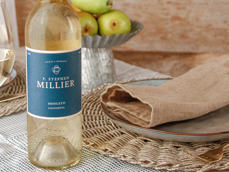 Sip or Spill: F. Stephen Millier Angels Reserve California Moscato 2018 | Nakedwines.com