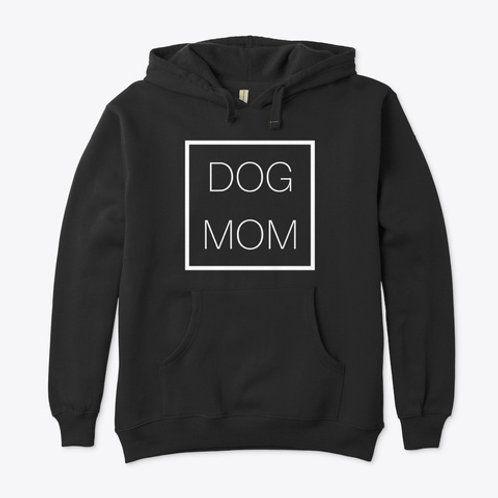 Eco Pull Over Hoodie - Dog Mom