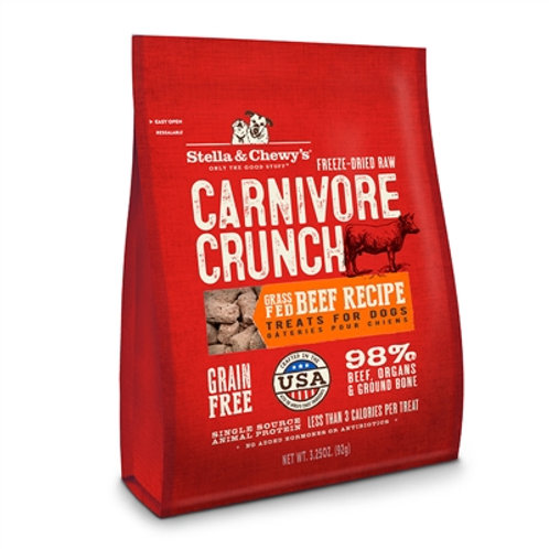 Stella and Chewy's Carnivore Crunch - Beef (3.25 oz.)